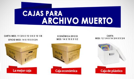 Caja de Archivo Muerto